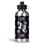 Texas Polka Dots Water Bottle - Aluminum - 20 oz (Personalized)