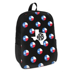 Texas Polka Dots Kids Backpack (Personalized)