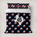 Texas Polka Dots Duvet Cover (Personalized)