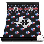 Texas Polka Dots Duvet Covers (Personalized)