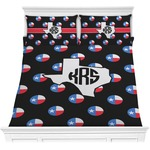 Texas Polka Dots Comforters (Personalized)