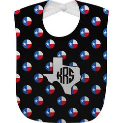 Texas Polka Dots Baby Bib (Personalized)