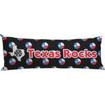 Texas Polka Dots Body Pillow Case (Personalized)