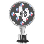 Texas Polka Dots Wine Bottle Stopper (Personalized)
