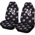 Texas Polka Dots Car Seat Covers (Set of Two) (Personalized)