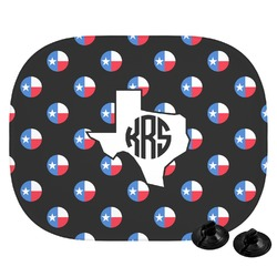 Texas Polka Dots Car Side Window Sun Shade (Personalized)