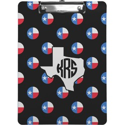 Texas Polka Dots Clipboard (Personalized)