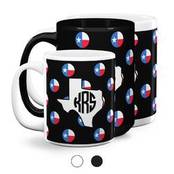 Texas Polka Dots Coffee Mugs (Personalized)