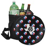 Texas Polka Dots Collapsible Cooler & Seat (Personalized)