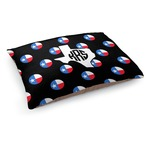 Texas Polka Dots Dog Bed (Personalized)