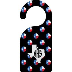 Texas Polka Dots Door Hanger (Personalized)