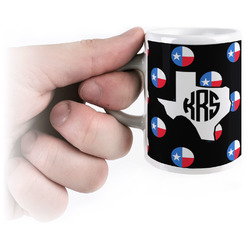 Texas Polka Dots Espresso Cups (Personalized)