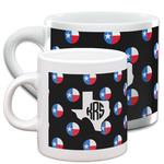 Texas Polka Dots Espresso Cups (Personalized)