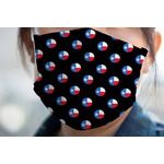 Texas Polka Dots Face Mask Cover (Personalized)