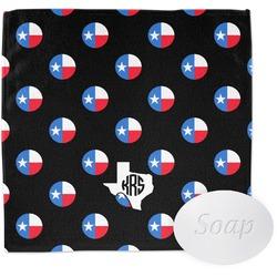Texas Polka Dots Wash Cloth (Personalized)