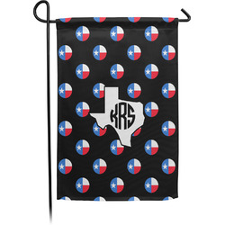 Texas Polka Dots Garden Flag - Single or Double Sided (Personalized)