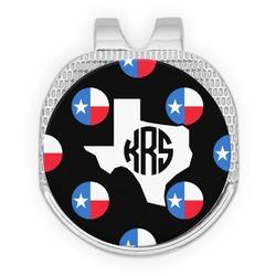 Texas Polka Dots Golf Ball Marker - Hat Clip