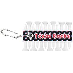 Texas Polka Dots Golf Tees & Ball Markers Set (Personalized)