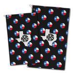 Texas Polka Dots Golf Towel - Full Print w/ Monogram
