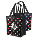 Texas Polka Dots Grocery Bag (Personalized)
