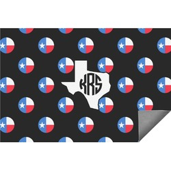 Texas Polka Dots Indoor / Outdoor Rug - 6'x9' (Personalized)