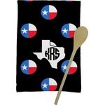 Texas Polka Dots Kitchen Towel - Full Print (Personalized)