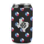 Texas Polka Dots Can Sleeve (12 oz) (Personalized)