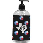 Texas Polka Dots Plastic Soap / Lotion Dispenser (Personalized)