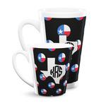Texas Polka Dots Latte Mug (Personalized)