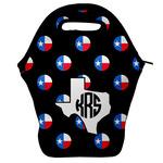 Texas Polka Dots Lunch Bag w/ Monogram