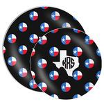 Texas Polka Dots Melamine Plate (Personalized)