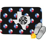 Texas Polka Dots Memory Foam Bath Mat (Personalized)