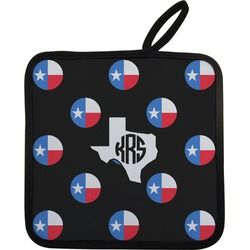 Texas Polka Dots Pot Holder (Personalized)