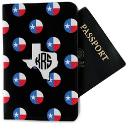 Texas Polka Dots Passport Holder - Fabric (Personalized)