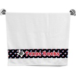 Texas Polka Dots Bath Towel (Personalized)