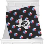 Texas Polka Dots Minky Blanket (Personalized)