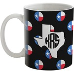 Texas Polka Dots Coffee Mug (Personalized)