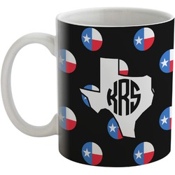 Texas Polka Dots Coffee Mug (Personalized)