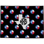 Texas Polka Dots Door Mat (Personalized)