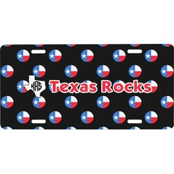 Texas Polka Dots Front License Plate (Personalized)