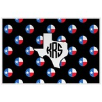 Texas Polka Dots Laminated Placemat w/ Monogram