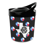 Texas Polka Dots Plastic Ice Bucket (Personalized)