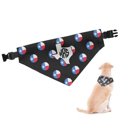 Texas Polka Dots Dog Bandana (Personalized)
