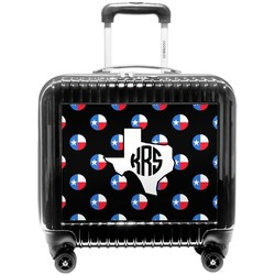 Texas Polka Dots Pilot / Flight Suitcase (Personalized)