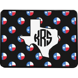 Texas Polka Dots Rectangular Trailer Hitch Cover (Personalized)