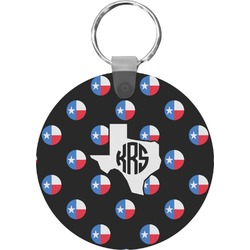 Texas Polka Dots Keychains - FRP (Personalized)