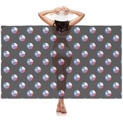 Texas Polka Dots Sheer Sarong (Personalized)
