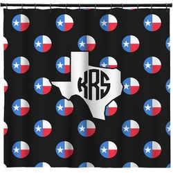 Texas Polka Dots Shower Curtain (Personalized)