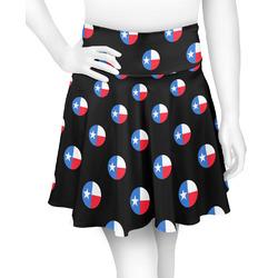 Texas Polka Dots Skater Skirt (Personalized)