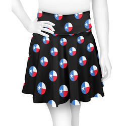 Texas Polka Dots Skater Skirt (Personalized)